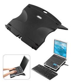 Подставка для ноутбука складная, алюминиевая Aidata