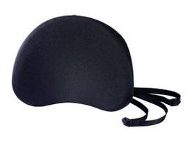 Подушка для спины 380x305x90мм, черная Aidata