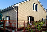 Акриловая Фасадная панель STONE HOUSE (Стоун Хаус) под камень и кирпич, цвет: Кирпич-Графитовый, фото 4