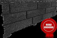 Акриловая Фасадная панель STONE HOUSE (Стоун Хаус) под камень и кирпич, цвет: Кирпич-Графитовый