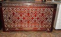 Казахские сундуки - Изделия из дерева