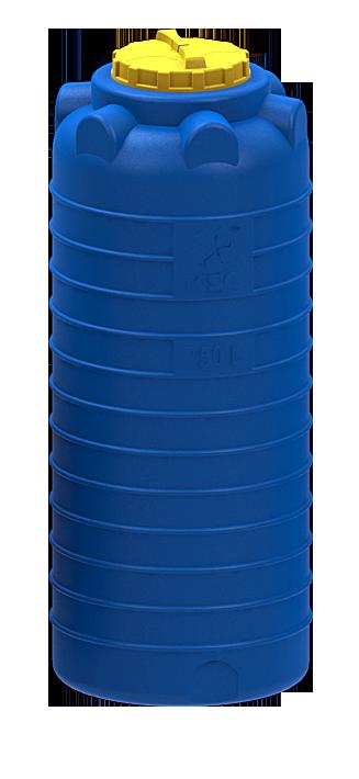 Емкость цилиндрическая вертикальная 750L