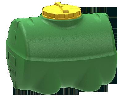 Емкость горизонтальная цилиндрическая 500L