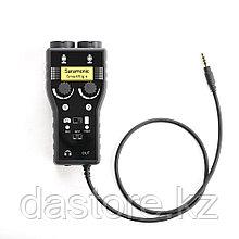 SARAMONIC SmartRig Plus аудио интерфейс для микрофонов, гитар, смартфонов, DSLR