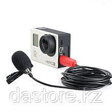 SARAMONIC SR-GMX1 Платиновый петличный микрофон с ветрозащитой
