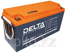 Гелевая аккумуляторная батарея Delta 150 А/ч GX12-150