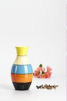 Мельница для соли и перца 19 Х 8 см Bisetti VASE design by Adam + Harborth / 2012, форма ваза, разноцветная, фото 1