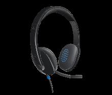 Logitech 981-000480 H540 Гарнитура проводная USB
