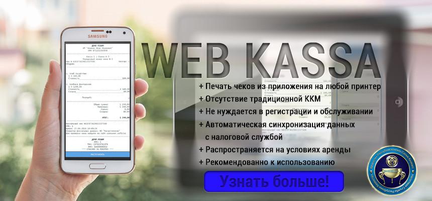 ККМ WEB KACCA (6 месяцев)
