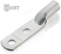 Медные наконечники под опрессовку с двумя крепежными отверстиями ТМЛ2 35-(8x2)-9 ™КВТ
