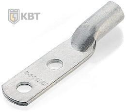 Медные наконечники под опрессовку с двумя крепежными отверстиями ТМЛ2 35-(10х2)-9 ™КВТ