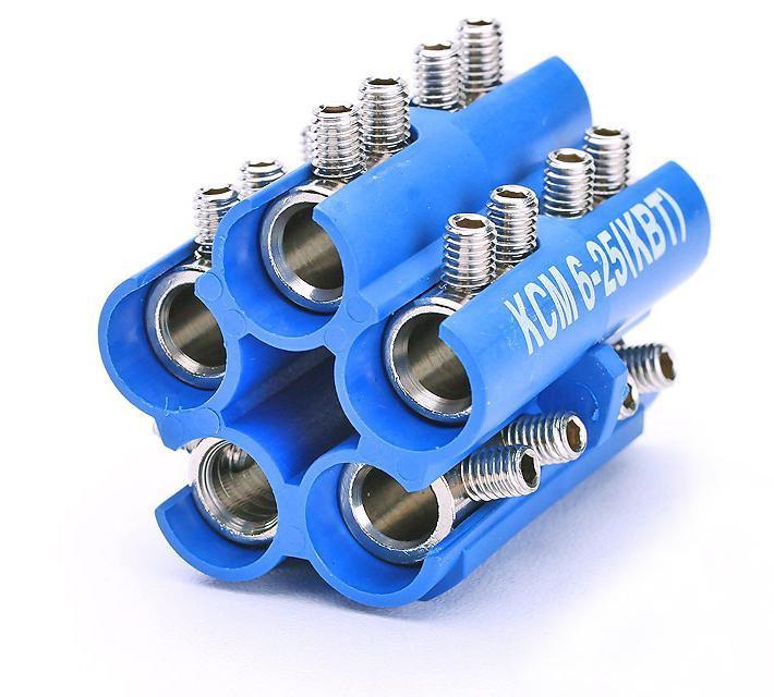 Блоки соединителей в полимерном корпусе КСМ-(6-25) ™КВТ