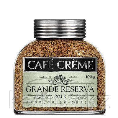 """""""CAFE CREME GRANDE RESERVA""""  кофе сублимированный, 100 гр."""