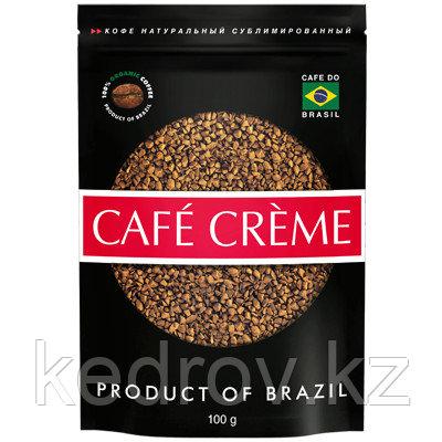 """""""CAFE CREME STRONG"""" кофе сублимированный, 100 гр дой-пак."""