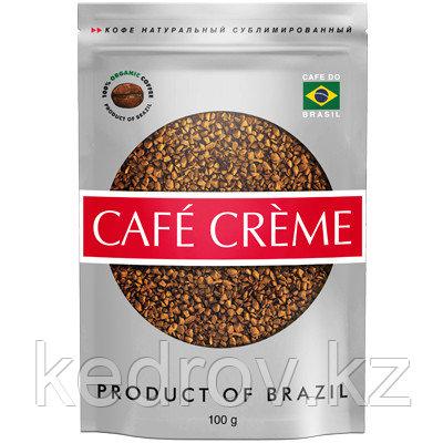 """""""CAFE CREME"""" кофе сублимированный, 100 гр дой-пак."""