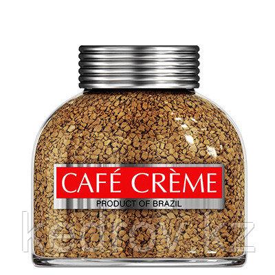 """""""CAFE CREME"""" кофе сублимированный, 100 гр стекло."""