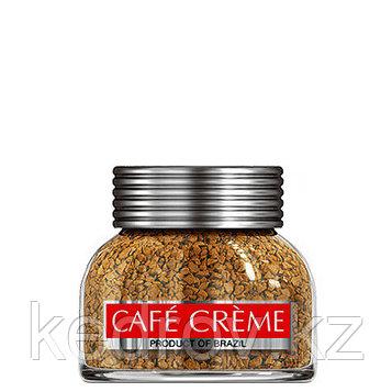 """""""CAFE CREME"""" кофе сублимированный, 50гр стекло."""