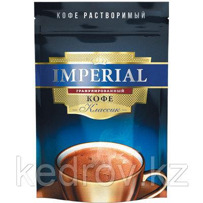 """""""IMPERIAL Классик"""" кофе порошкообразный с добавлением молотого кофе, 95гр дой-пак."""