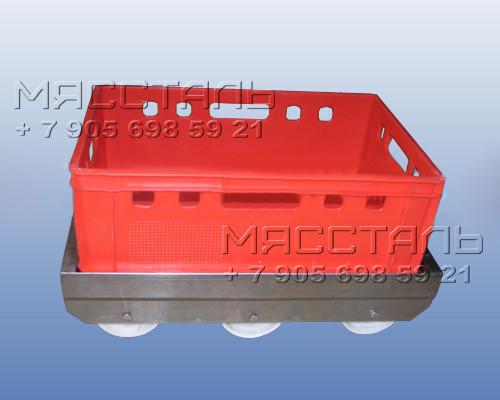 Тележки для транспортировки ящиков