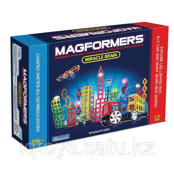 Магнитный конструктор Magformers Miracle Brain Set (298 деталей)