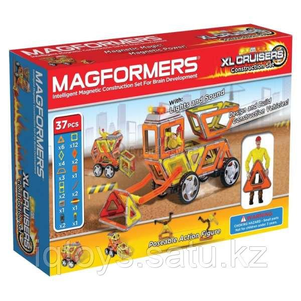 Магнитный конструктор Magformers XL Cruisers Строители (33 деталей)
