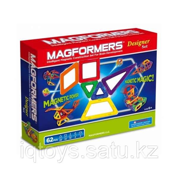Магнитный конструктор Magformers Designer Set (62 деталеи)