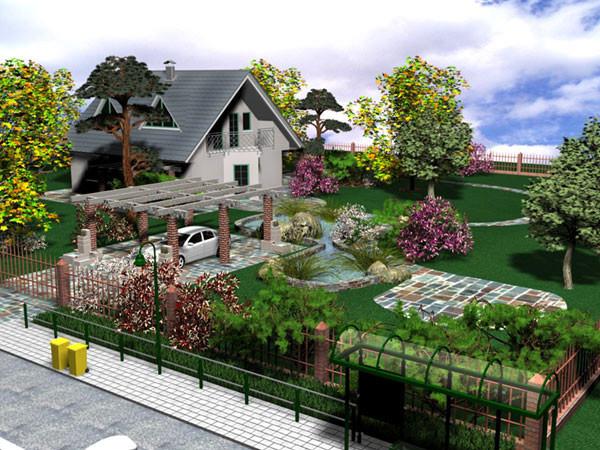 Ландшафтный дизайн в Атырау