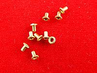 Заклепки (пистоны) для печатных плат 1.3мм х 2 мм (10 штук)
