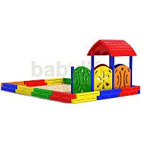 Песочный дворик-2 Детская песочница для сада, фото 1