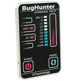 """Детектор скрытых жучков, видеокамер и прослушивающих устройств """"BugHunter CR-01"""" Карточка"""