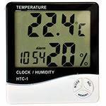 Термогигрометр комнатный HTC-2 с внешним датчиком