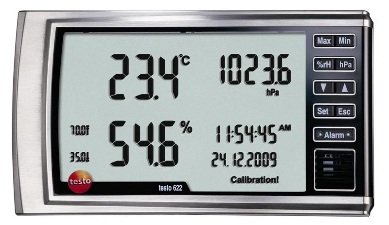 Термогигрометр Testo 622(В Госреестре РК)