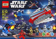 """Конструктор Star Wars""""Роботы с космическим аппаратом""""489дет."""