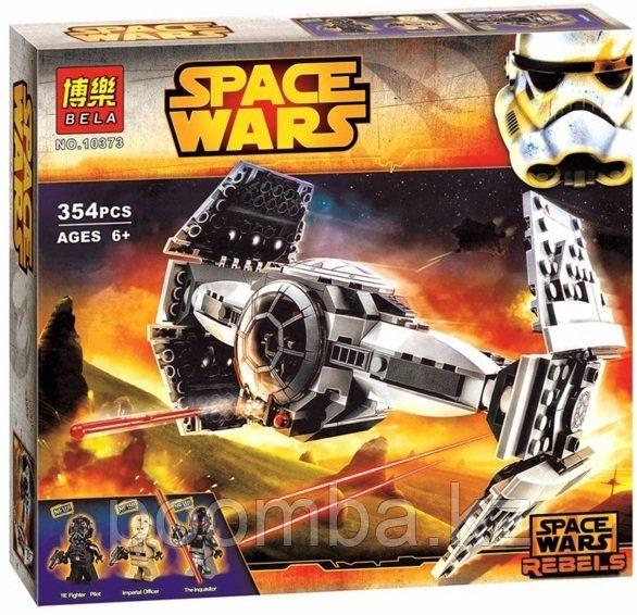 """Конструктор Star Wars""""Улучшенный прототип истребителя TIE""""354дет."""