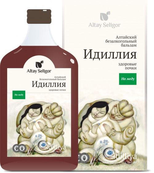 Алтайский бальзам на меду «Идиллия»
