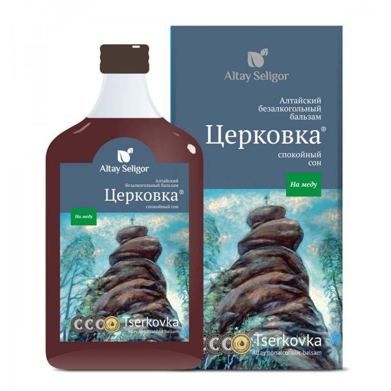 Алтайский бальзам на меду «Церковка»