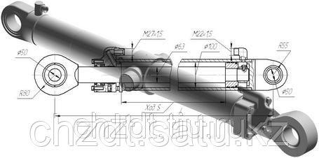 Гидроцилиндр выдвижения отвала  ДЗ-98В.43.04.000, фото 2