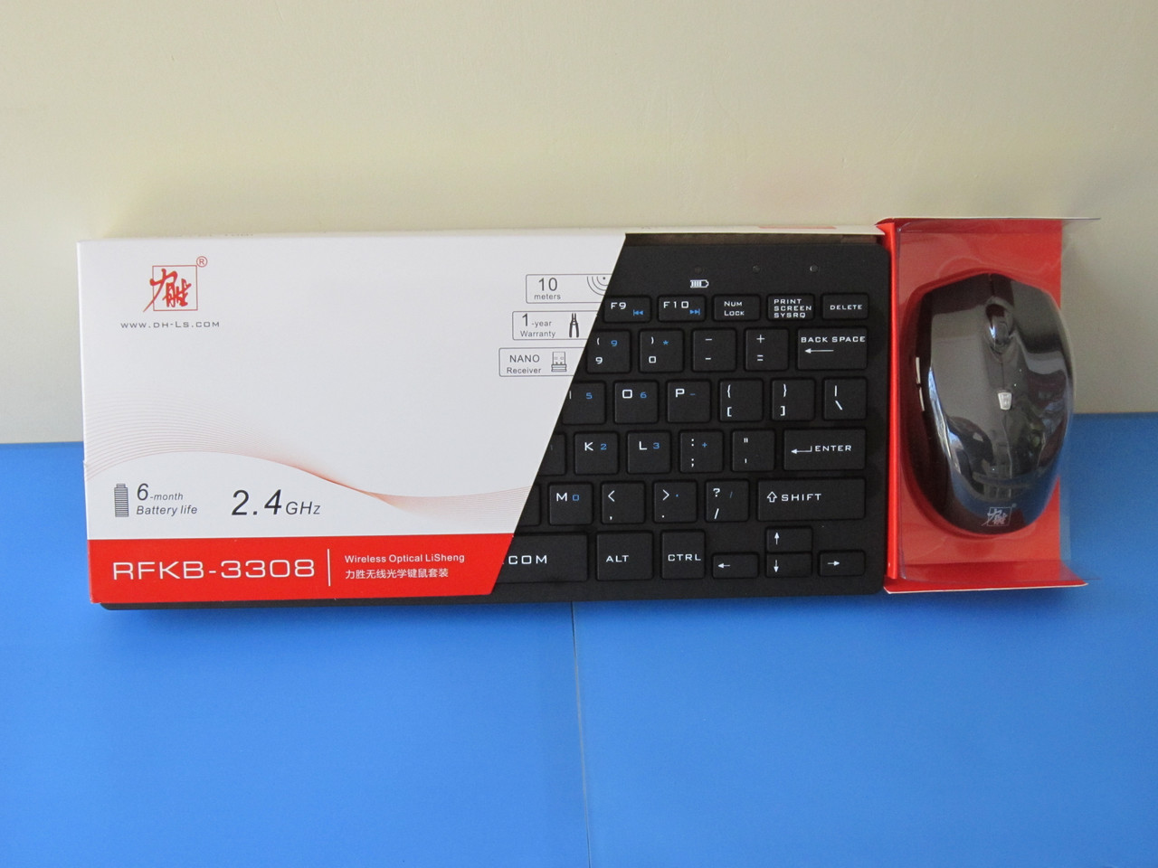 Клавиатура беспроводная + мышь N3308, Алматы