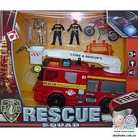 """Игровой набор """"Пожарник"""", пожарная машинка"""