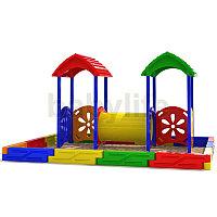Песочный дворик-5  Уличная песочница для детей, фото 1