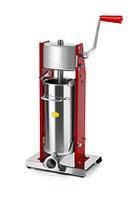 Ручной шприц для набивки колбас Tre spade MOD. 7/V, цвет красный, фото 1