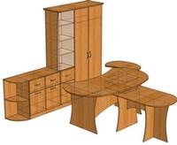Корпусная мебель эконом класса на заказ, фото 1