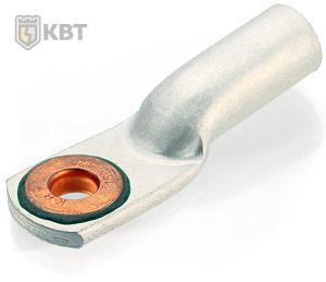 Наконечники кабельные алюмомедные под опрессовку ТАМ 95-12-13 ™КВТ
