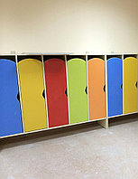 Шкаф для раздевалки в мини центр на заказ, фото 1