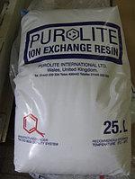 Смола катионитная Purolite C 100E для удаления солей жесткости.