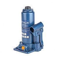 Домкрат гидравлический бутылочный, 4 т, h подъема 194–372 мм, в пласт. кейсе// Stels, фото 1