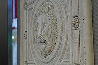 Декор керамический лев