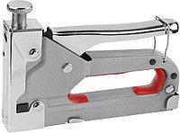 Пистолет DEXX скобозабивной, металлический регулируемый, тип 53, 4-14мм