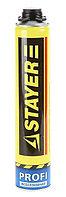 Пена STAYER PRO профессиональная полиуретановая, для монтажного пистолета, всесезонная, 750мл