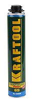 Пена KRAFTOOL  KRAFTFLEX PREMIUM PRO 65 профессиональная полиуретановая, для монтажного пистолета, всесезонная